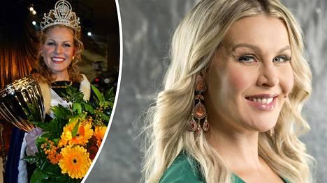 Anna Strömberg kruunattiin Miss Suomeksi vuonna 2003.