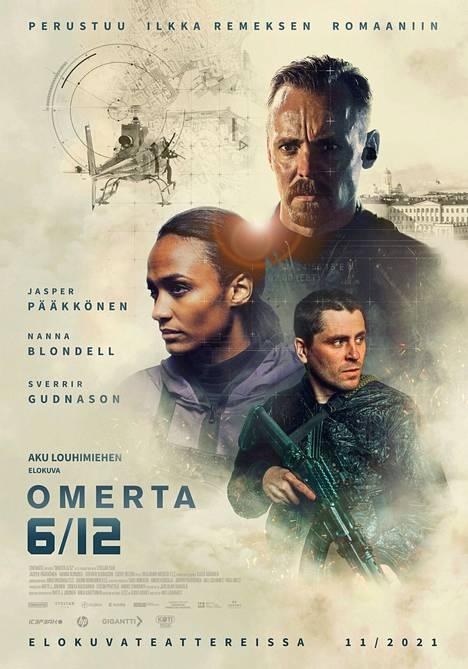 Jasper Pääkkönen, Nanna Blondell ja Sverrir Gudnanson tähdittävät Omerta-elokuvaa.
