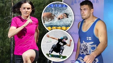 Muun muassa Senni Salminen, Lizzie Armanto, Arvi Savolainen ja Ari-Pekka Liukkonen ovat Suomen mitalitoivoja Tokiossa.