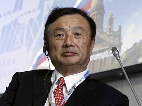 NSA on oletetusti vakoillut Huawein ylintä johtoa. Kuvassa yhtiön perustaja Ren Zhengfei.