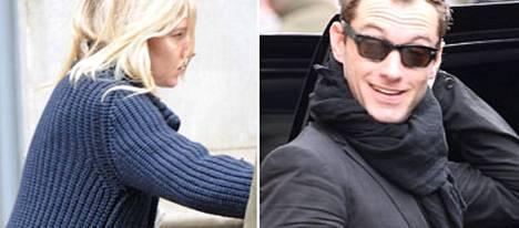 Jude Law ja Sienna Miller muuttavat yhteen ensi vuonna.