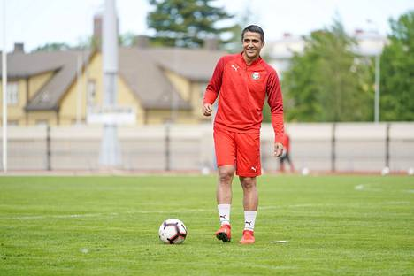 Dárvin Chávez löysi peli-ilon uudestaan Pietarsaaressa. Tavoitteena on auttaa Jaro nousemaan Veikkausliigaan.