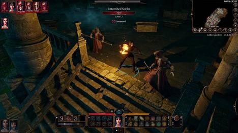 Taistelut käydään vuoropohjaisina. Taistelu on toteutettu erinomaisesti ja kuuluu pelin parhaaseen antiin.