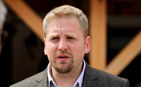 Liberlandin johtaja Vit Jedlicka.