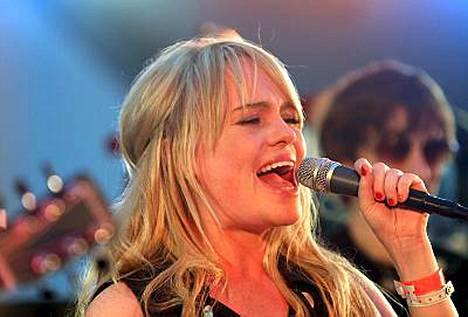 Duffy palasi brittien albumilistan kärkeen levyllään Rockferry.