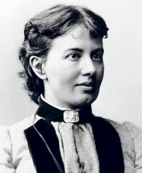 Venäläinen Sonja Kovalevskaja (s. 1850) solmi valeavioliiton, jotta pääsi opiskelemaan. Hänestä tuli maailman ensimmäinen naispuolinen matematiikan professori.
