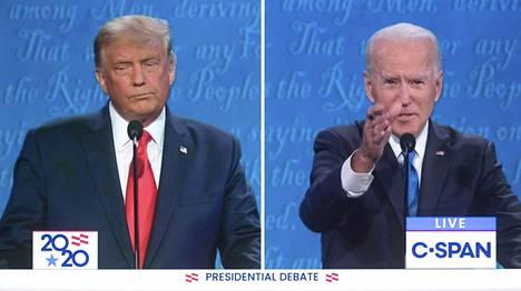 Donald Trumpin ja Joe Bidenin vaalitaistelu jatkuu vielä 11 päivää tv-tentin jälkeen.