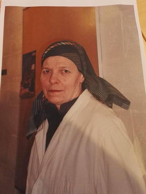 73-vuotias Irmeli Vuolle on kadonnut.