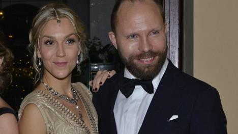 Kuvassa Milonoffit Linnan juhlissa 2016.