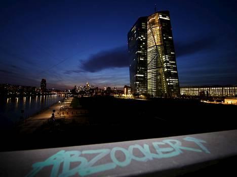 EKP:n uusi pääkonttori Frankfurtissa.