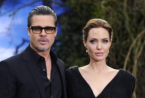Brad Pitt ja Angelina Jolie menivät naimisiin vuonna 2014.