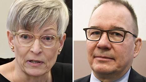 Kirsi Pimiä on toiminut yhdenvertaisuusvaltuutetun virassa toukokuusta 2015 lähtien. Antti Pelttari on johtanut Suojelupoliisia vuodesta 2011.