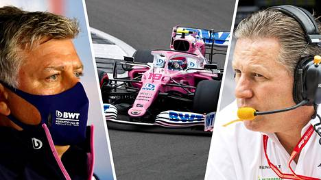 FIAn päätös oli pettymys sekä Racing Pointin että McLarenin tallipomoille.