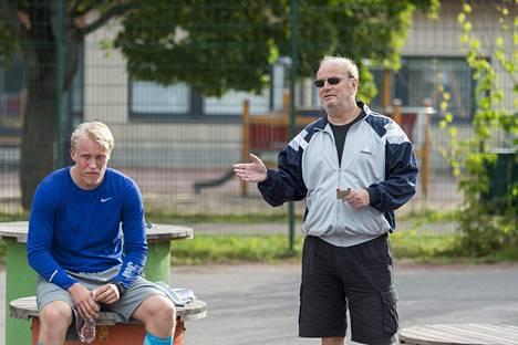 Patrik Laine oli Rautalan opissa ensimmäistä kertaa vuosi sitten.