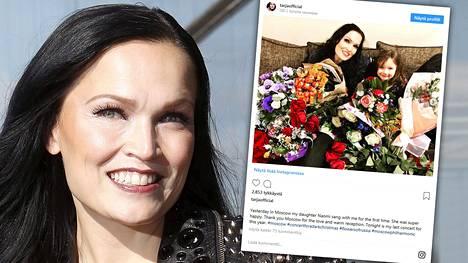 Tarja Turunen kertoi Instagramissa tyttärensä ensimmäisestä konserttiesiintymisestä. Video konsertista löytyy YouTubesta.