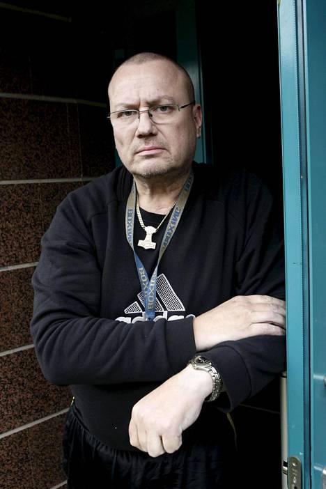 Tony Halme vuonna 2009.