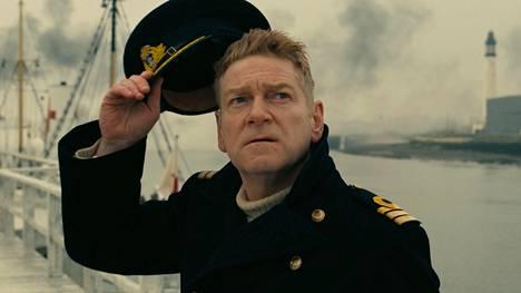 Kenneth Branagh näyttelee Dunkirkissa laivaston upseeria.