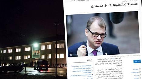Arabimediassa on uutisoitu laajasti Suomen kiristyneestä maahanmuuttopolitiikasta.