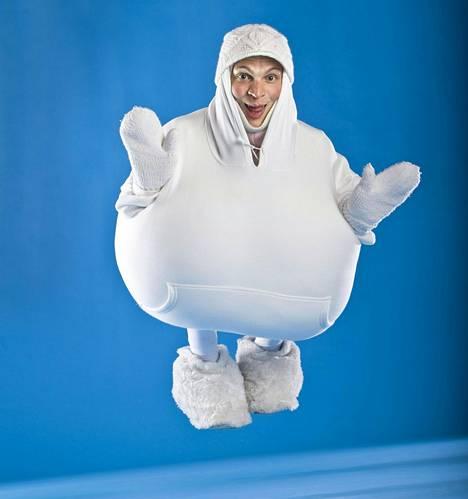 Riku Niemisen hahmo Munamies voitti Putous-sarjan sketsihahmokilpailun vuonna 2011.