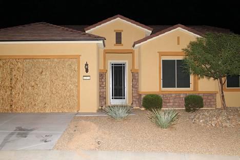 Stephen Paddockin koti näyttää tältä.