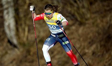 Helene Marie Fossesholmin sijoitukset parhaillaan käytävissä MM-kisoissa ovat 6:s ja 8:s.