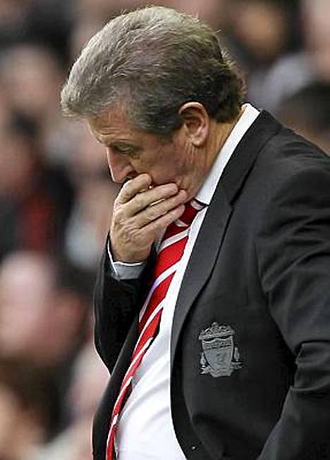 Roy Hodgsonin ilme kertoi kaiken ottelussa Blackpoolia vastaan.