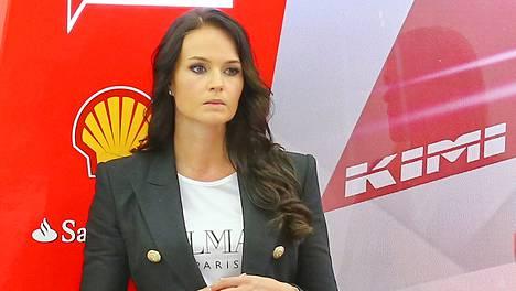 Minttu Virtanen kuvattuna Bahrainissa huhtikuussa.