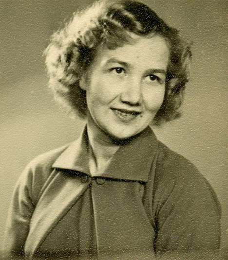 Edit Grön 1940-50-lukujen vaihteessa.