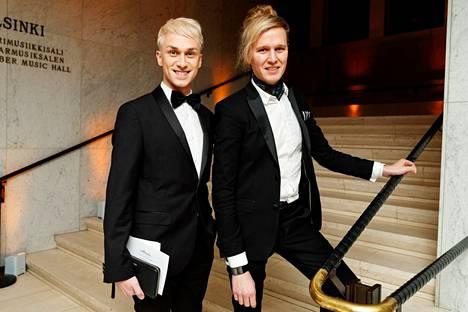 Christoffer Strandberg on pitänyt jo pitkään yhtä Janne-puolisonsa kanssa.