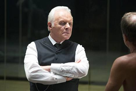 Westworld-sarjan rooleissa nähdään myös elokuvatähtiä: puiston kehittäjää näyttelee Anthony Hopkins.