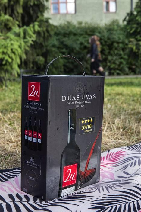 Portugalilainen 2u Duas Uvas nousi Suomen myydyimmäksi punaviiniksi viime vuonna.