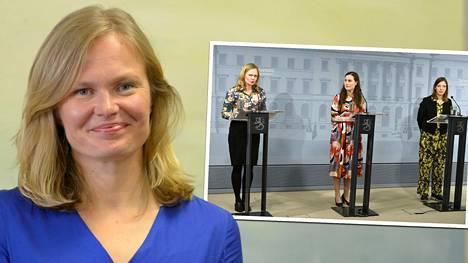 Tiede- ja kulttuuriministeri Hanna Kosonen jää historiaan yhtenä koronakevään hallituksen hahmoista.