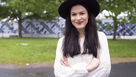 Jenni Vartiainen pääsi esiintymään idolinsa kanssa Pori Jazzeilla.