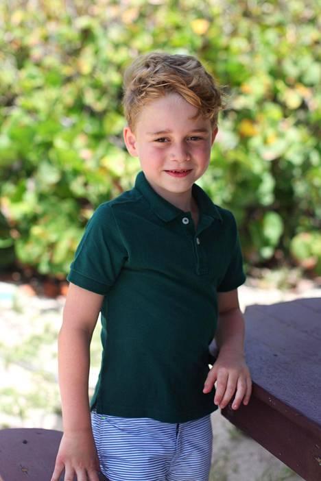 Tanssi lukeutuu 6-vuotiaan prinssi Georgen suosikkiharrastuksiin.