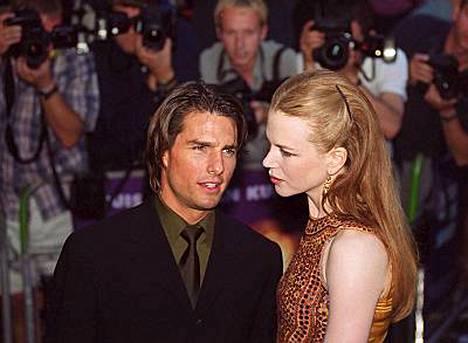 Nicole Kidman ja Tom Cruise erosivat vuonna 2001.