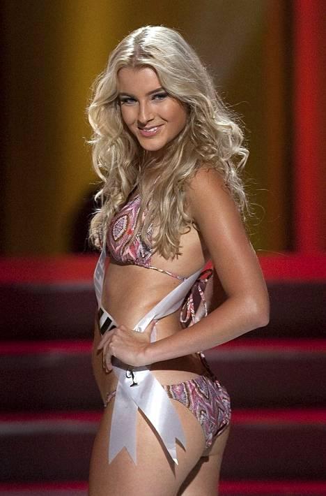 Jitka Novackova Miss Universum -kisoissa vuonna 2011.