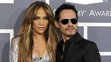 Jennifer Lopez ja Mark Anthony pysyttelevät hyvissä väleissä lastensa takia.
