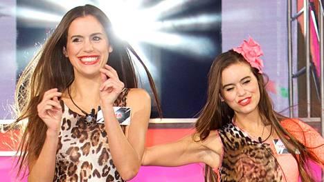 Victoria ja Emma jensen saapuivat Big Brother -taloon.