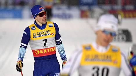 Ristomatti Hakola joutui pettymään raskaasti perjantain sprinttikisassa.