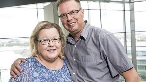 Tv:stä tutut Anne ja Markku tutustuivat vuonna 2013.