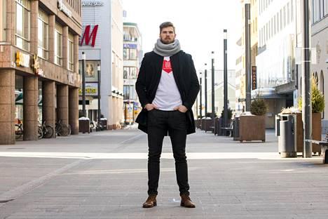 Oulun isäntä. Jani Hakanpää on kasvanut suureen rooliin Kärpissä.