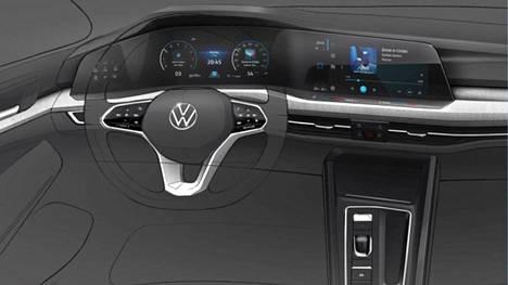 Volkswagen on edennyt Golfin kanssa tähän asti hyvin varovasti: Evolution instead revolution, eli pientä kehitystä vallankumouksellisten muutosten sijaan. Seuraavan Golfin sisätilat ovatkin sitten jotain aivan muuta kuin tähän saakka on nähty.