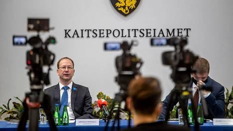 Viron suojelupoliisin Kapon johtaja Arnold Sinisalu kertoi Venäjän vakoilusta.