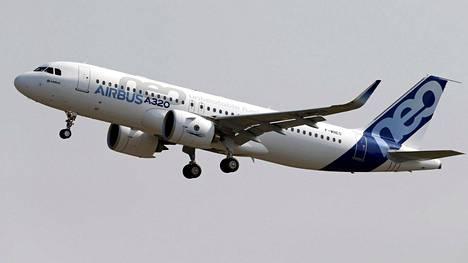 "Airbus A320neon nimi tulee sanoista ""New Engine Option""."