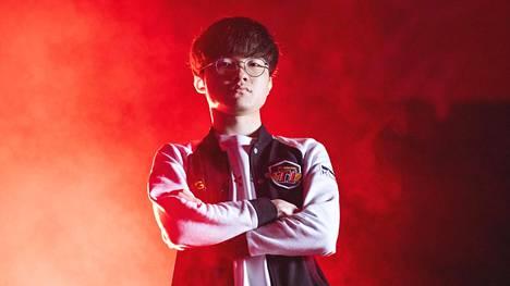 """Lee """"Faker"""" Sang-hyeok on yksi maailman tunnetuimmista kilpapelaajista, ellei jopa tunnetuin."""