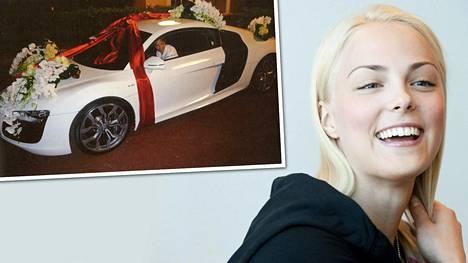 Venäläismiljardöörin Kiira Korvelle lahjoittama urheiluauto ei ollut halvimmasta päästä.