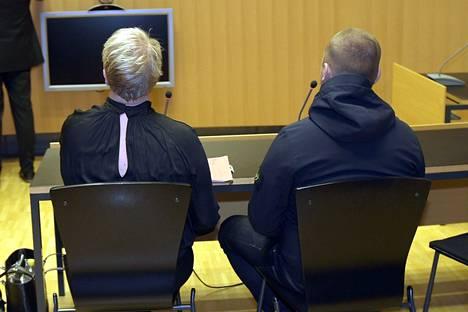 Jesse Torniainen (oik.) oikeudessa keskiviikkona.