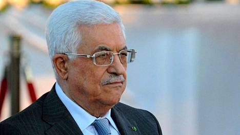 Palestiinalaisten presidentti Mahmud Abbas.
