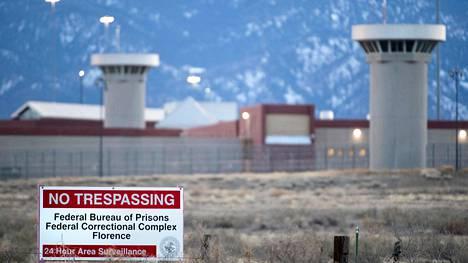 Huipputurvallinen supermax-vankila sijaitsee Coloradon osavaltiossa.