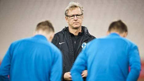Huuhkajat hävisi EM-karsintojen kenraaliharjoituksensa Virolle – näistä syistä Markku Kanerva näki pelissä hyvääkin